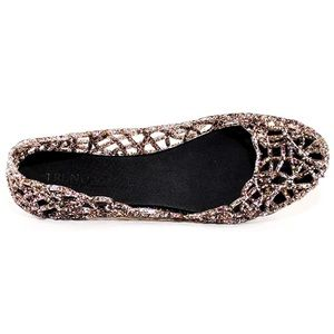 Shoes - Glitter Jelly Flats